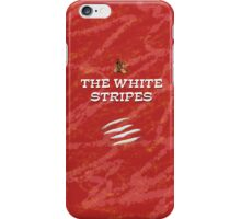 the white stripes iPhone Case/Skin