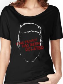privacy has been deleted Women's Relaxed Fit T-Shirt