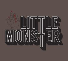 Little Monster Paws Up One Piece - Short Sleeve