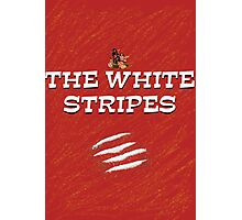 the white stripes Photographic Print