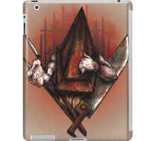 Red Pyramid Thing iPad Case/Skin