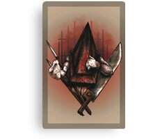 Red Pyramid Thing Canvas Print