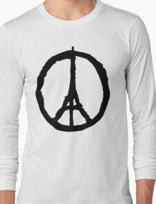 Peace for Paris - black - paix pour Paris - Pray Long Sleeve T-Shirt
