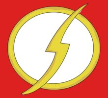 Flash logo from Justice League! Kids Clothes
