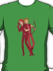 Hawkeye and Black Widow T-Shirt