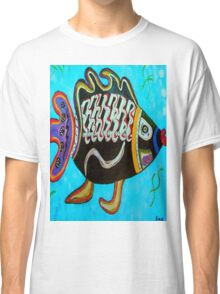 """BANDIT - the fish that """"resurfaced"""" from the flames Classic T-Shirt"""