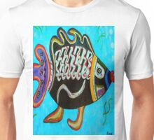 "BANDIT - the fish that ""resurfaced"" from the flames Unisex T-Shirt"