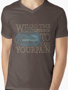Moonlight Medical Mens V-Neck T-Shirt