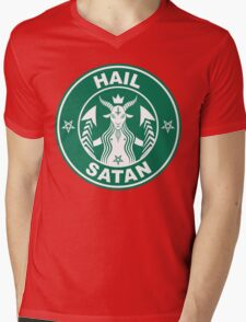 Red Cup Mens V-Neck T-Shirt