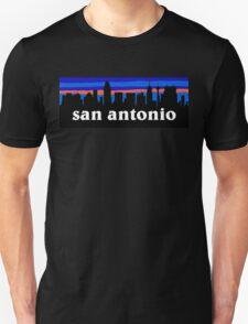 San Antonio - Texas, Skyline silhouette T-Shirt