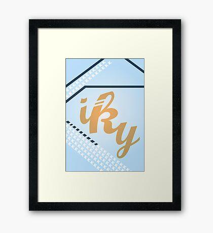Iky Framed Print