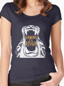 Aladdin 'Diamond in the Rough'  Women's Fitted Scoop T-Shirt