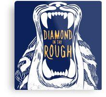 Aladdin 'Diamond in the Rough'  Metal Print
