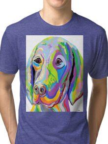 WEIMARANER Tri-blend T-Shirt