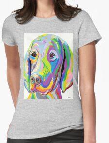 WEIMARANER Womens Fitted T-Shirt