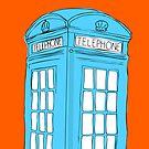 Neon Telephone Box by samh0731