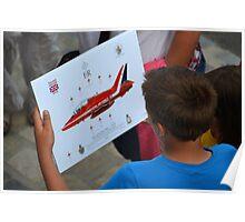 Red Arrows  Keepsake Poster