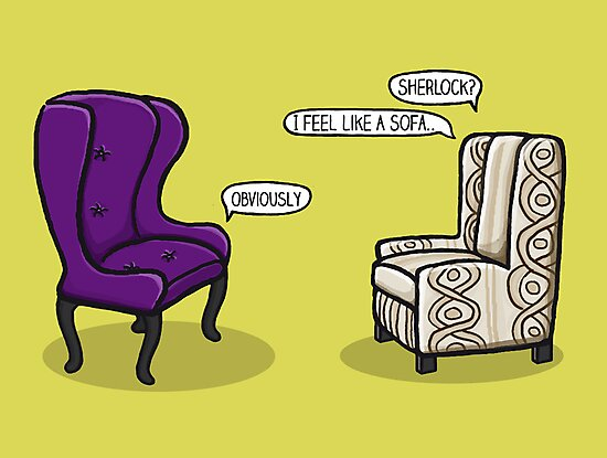 Consulting Armchair and Army Upholstery by Sherlock-ed