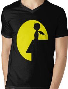 BatCharlie Mens V-Neck T-Shirt