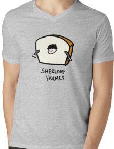 Sherloaf Holmes Mens V-Neck T-Shirt