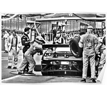 Brands Hatch GP Auto 2012 Poster