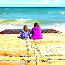 Sitting down in Sheringham by Luckyman