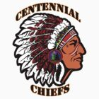 Centennial Chiefs T-shirt by Studio Burke