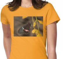 Transandean Cattleheart Butterfly Womens Fitted T-Shirt