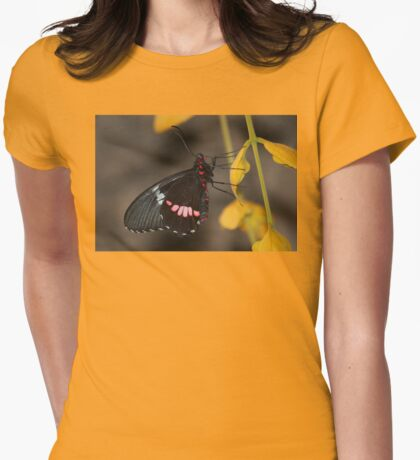 Transandean Cattleheart Butterfly Womens Fitted T-Shirt