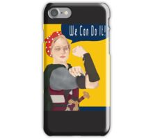 Feminist Icon; Eowyn The Riveter iPhone Case/Skin