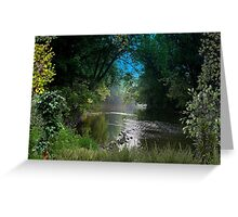 2316-Johns Creek at the Other End Greeting Card