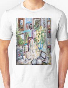 Table of an Art Enthusiast Unisex T-Shirt