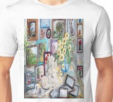Table of an Art Enthusiast Unisex T-Shirt