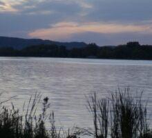 Lake Winona at Dusk Sticker