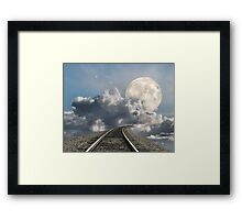 Supermoon 2012 Framed Print