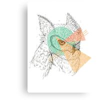 Simplistic Owl Canvas Print