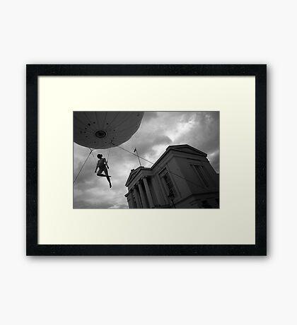 Heliosphere Framed Print