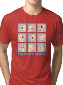 Fluttershy Feels Tri-blend T-Shirt