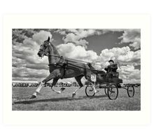 One Horse Power Art Print