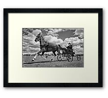 One Horse Power Framed Print