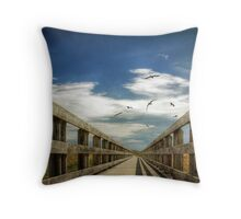 The Boarwalk Throw Pillow