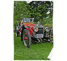 1918 Johnson Automobile Poster