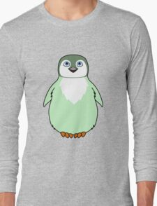 Light Green Baby Penguin Long Sleeve T-Shirt