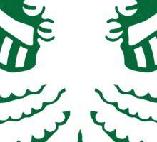 Starspawn Coffee War on Christmas '16 Sticker