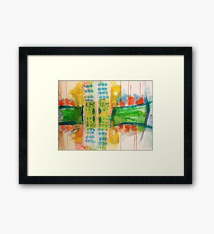 city#9 Framed Print