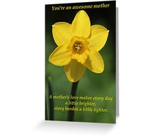 Awesome Mother Greeting Card