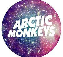 Arctic Monkeys Galaxy by Valladoli
