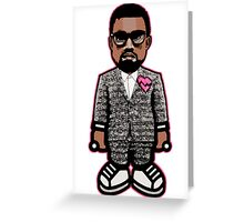 KAYNE WEST: GOOD MUSIC HEARTBREAK Greeting Card