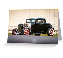 Barry's 1932 Ford 5-Window Coupe Greeting Card
