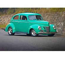 Dave's 1940 Ford Sloper Photographic Print